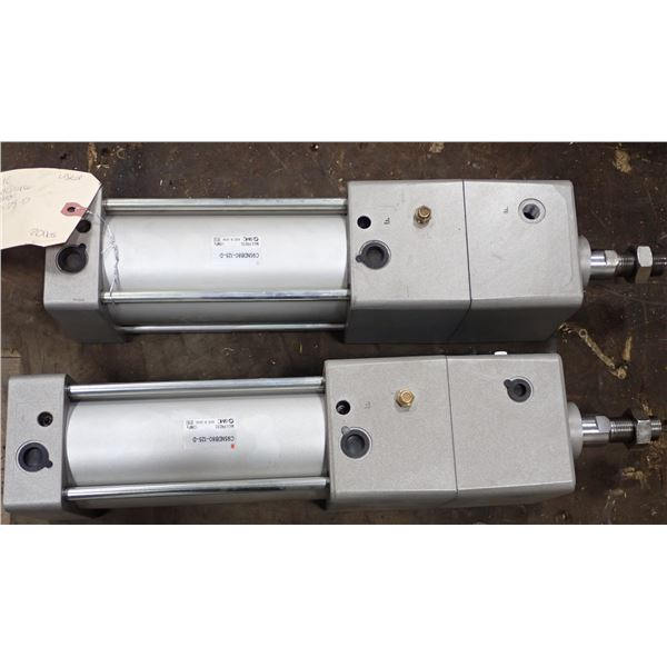 Lot of (2) SMC #C95NDB80-125-D Cylinders