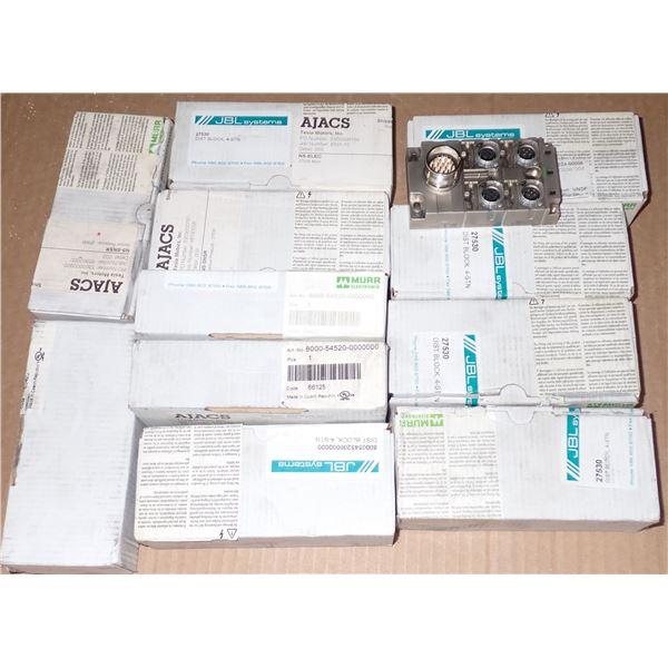 Lot of (12) Murr Elektronik #8000-54520-0000000