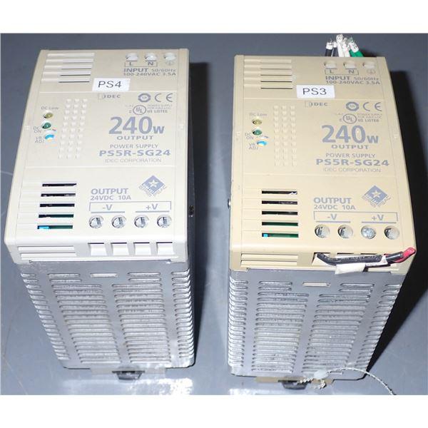 Lot of (2) IDEC #PS5R-SG24