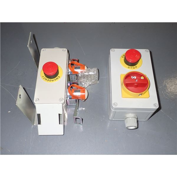Lot of (2) Control Boxes