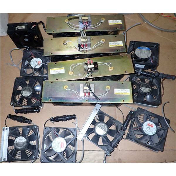 Lot of Electrical Cabinet Cooling Fans