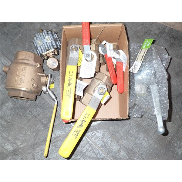 Dynaquip Ball valves & Misc