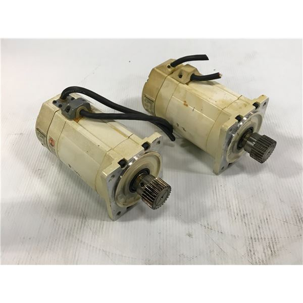 (2) PANASONIC MSMZ082A1C / MSMA082A1C AC SERVO MOTOR