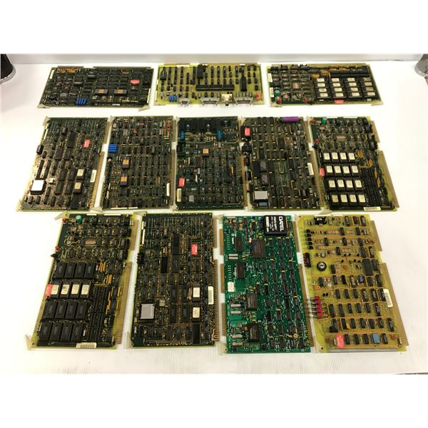 LOT OF CINCINNATI MILACRON CIRCUIT BOARDS *PART #'S PICTURED*