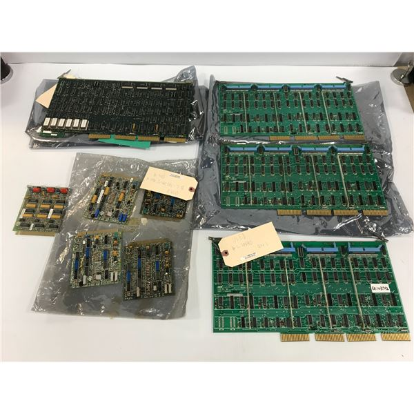 LOT OF MISC. CIRCUIT BOARDS *SEE PICS FOR PART #'S*