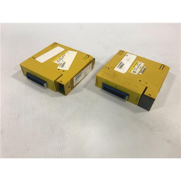 (2) FANUC A03B-0819-C155 OUTPUT MODULE