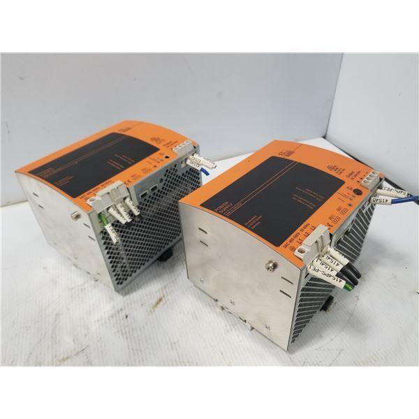 (2) IFM DN2134 POWER SUPPLY
