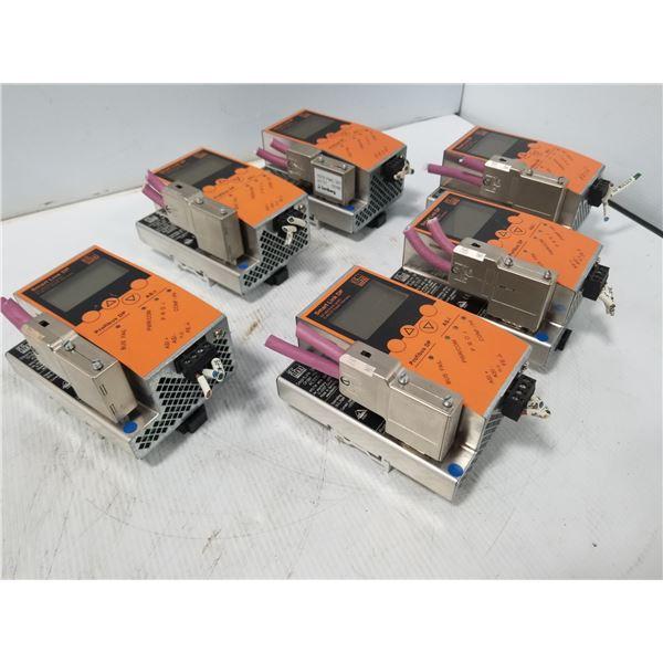 (6) IFM AC1335 SMART LINK DP MODULE