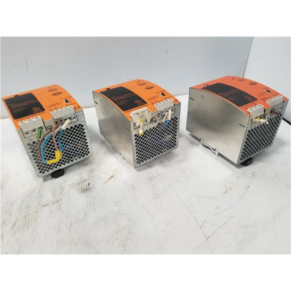 (3) IFM AC1218 POWER SUPPLY