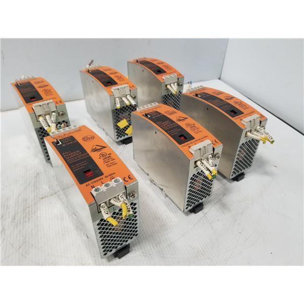 (6) IFM AC1216 POWER SUPPLY