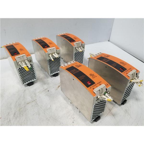 (5) IFM SL2.502 POWER SUPPLY