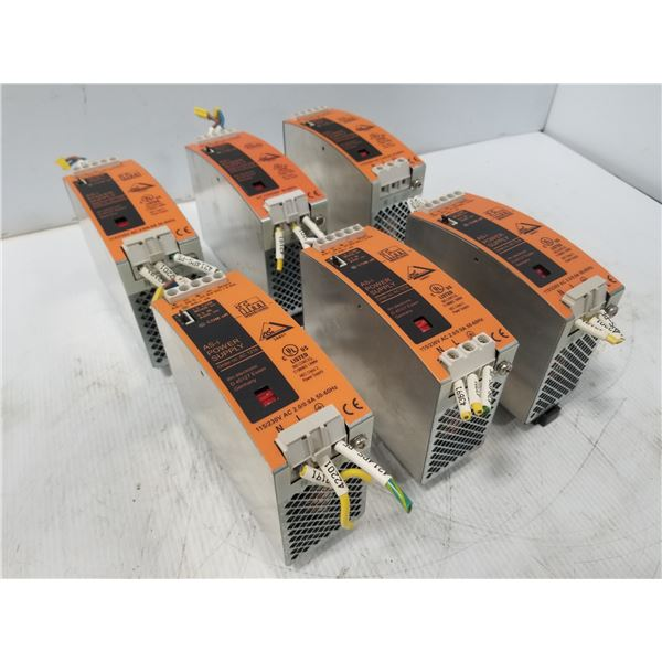(6) IFM AC1216 POWER SUPPLY