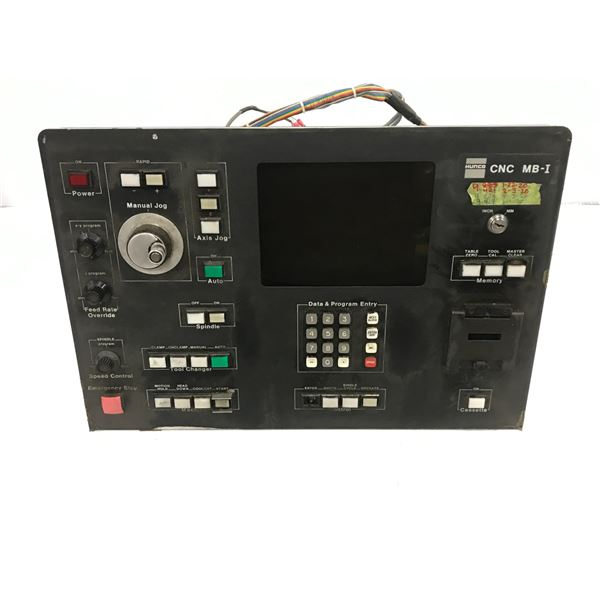 HURCO CNC MB-I OPERATOR PANEL