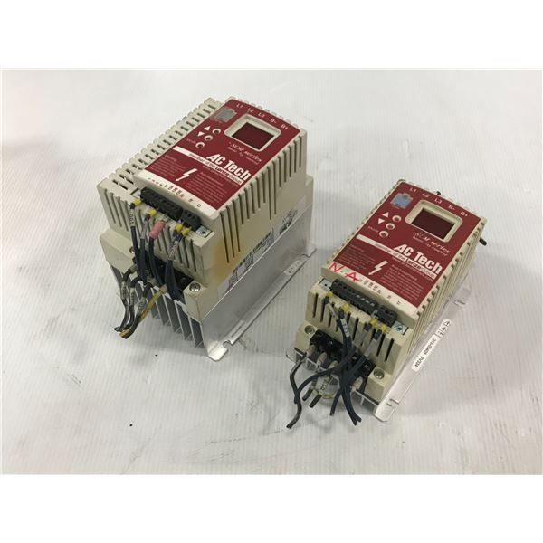 LOT OF AC TECH SM430 / SM405 DRIVE