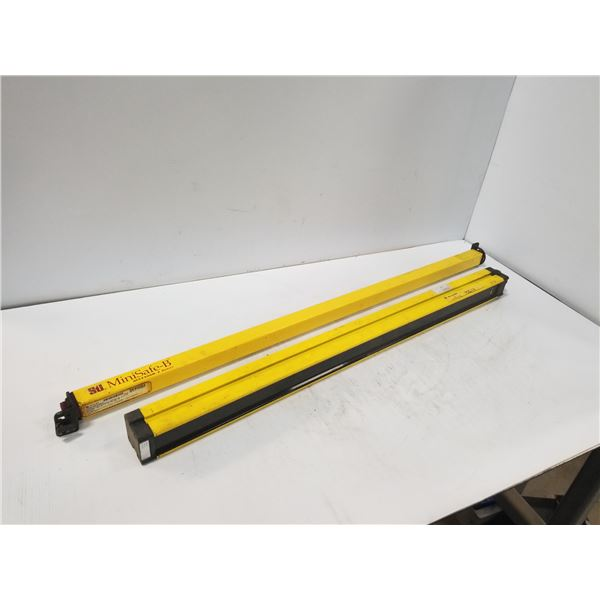 LOT OF MISC SAFETY LIGHT CURTAINS *SEE PICS FOR PART #S*