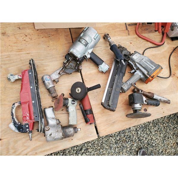 Lot of Various Air Tools
