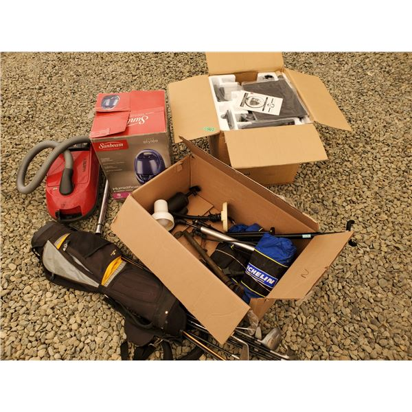 Lot of Misc - Vacuum, Humidifier, Golf Clubs, Car Tire Covers, Water Filtration Vacuum and More