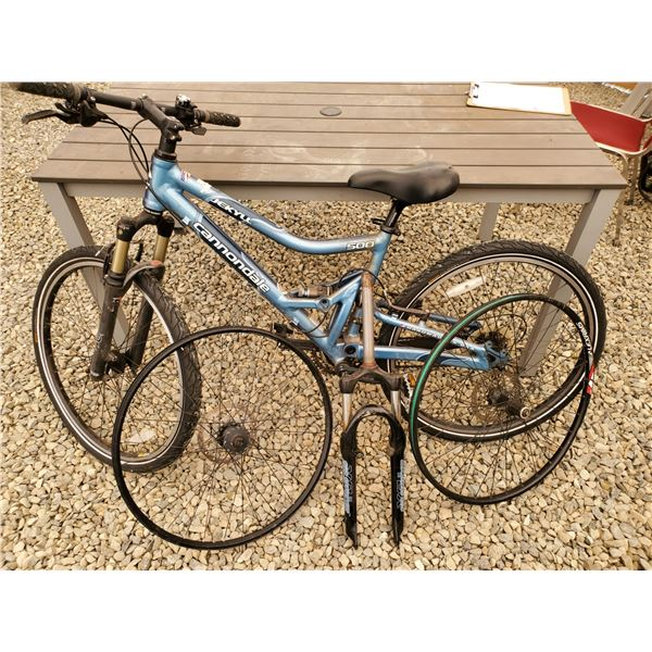 Cannondale Jekyll 500 Full Suspension Mt. Bike With Extra Parts - Handmade USA