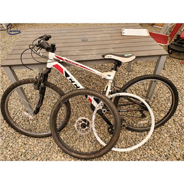 CCM Static 26 Full Suspension Mt. Bike W/ Extra Parts - Heat Treated Aluminum Frame