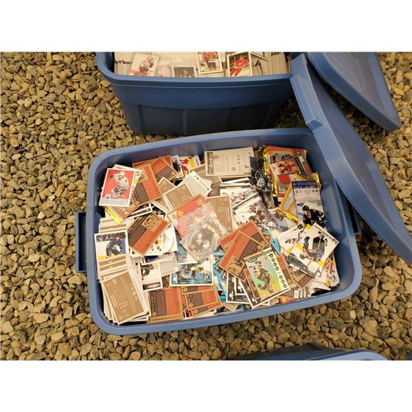 Large Lot of Various NHL Trading Cards