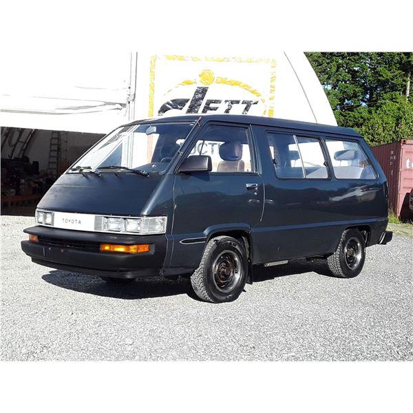 H6D --  1988 TOYOTA VAN WAGON DELUXE , Grey , 364834  KM's