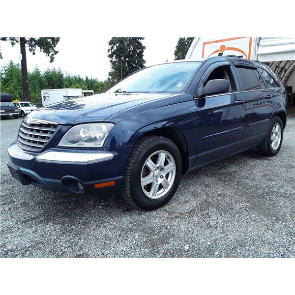 C5 --  2006 CHRYSLER PACIFICA TOURING , Blue , 211749  KM's