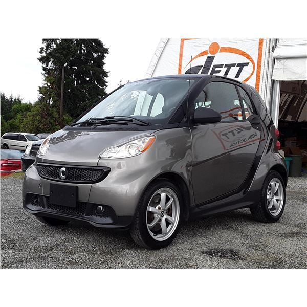 C2 --  2013 SMART FORTWO PURE , Grey , 96643  KM's