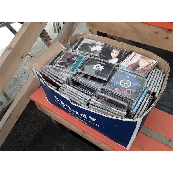 Large Box of CD's