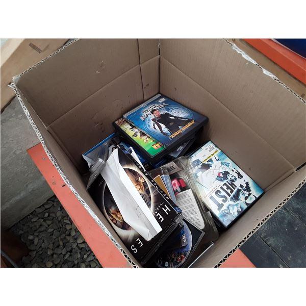 Box of DVD Movies