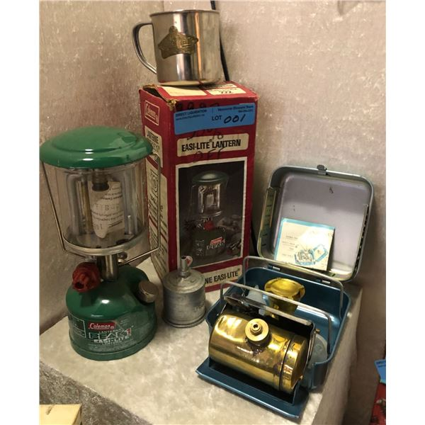 4 Pieces Camping lot