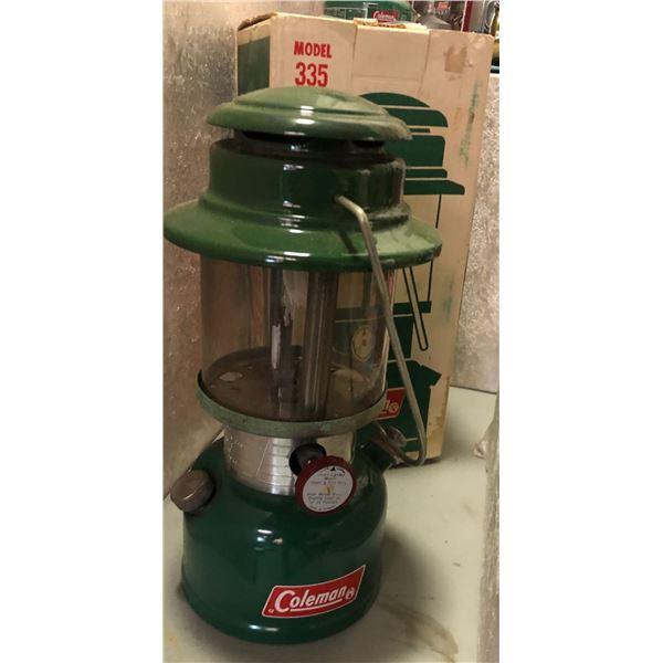 Vintage Coleman lantern model 335
