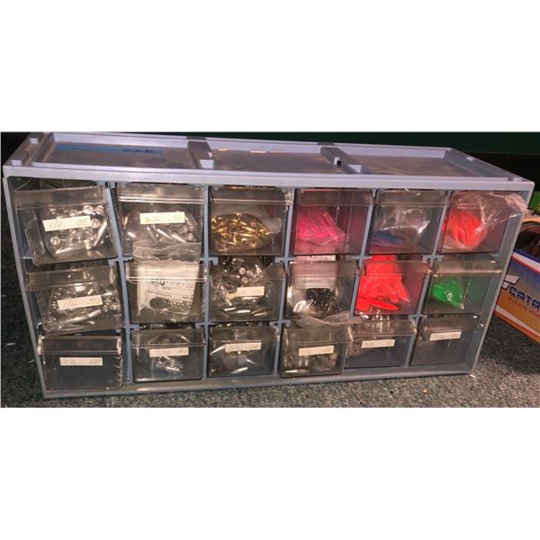 1 Box of assorted lead fishing sinkers
