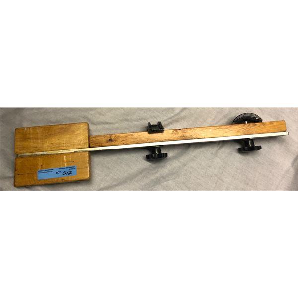 Pro Bass fishing equipment repair board