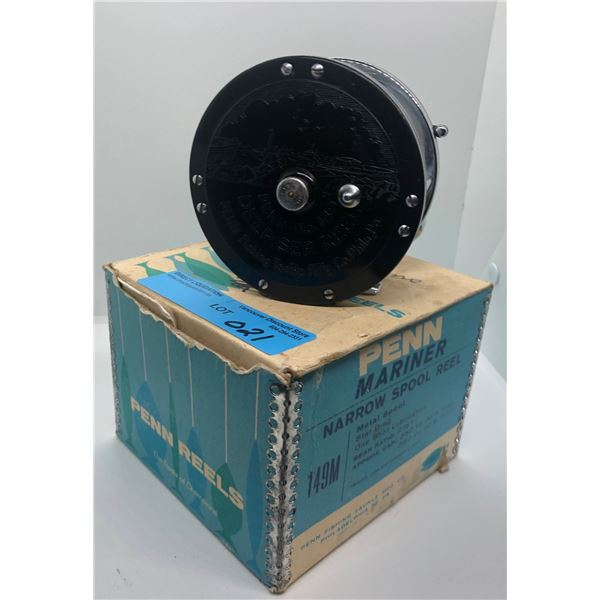 Penn No-149 level wind fishing reel w/ original box