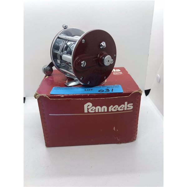 Penn peer No- 209 level wind fishing reel w/ original box