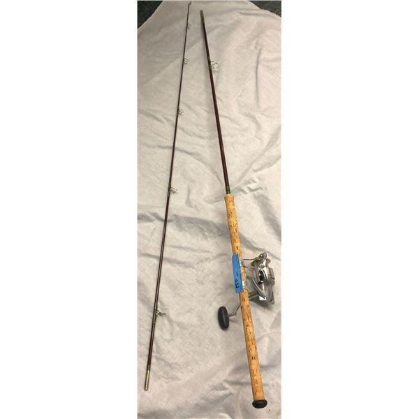 Custom built spinning rod w/ shimano reel