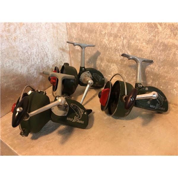 3 Dam Quick West German Vintage Spinning Reels