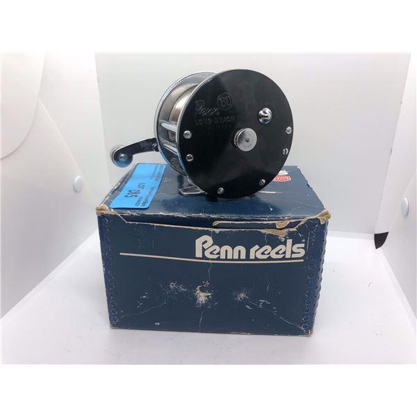 Penn 60 Long Beach level-wind reel w/original box