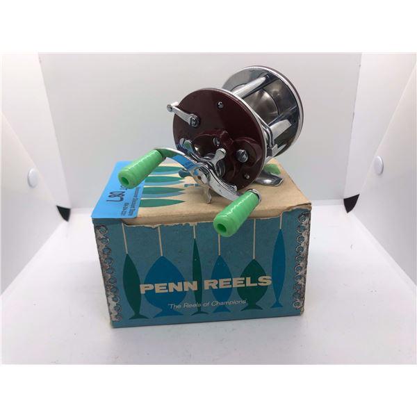 Penn Peer No 109 level-wind reel w/original box