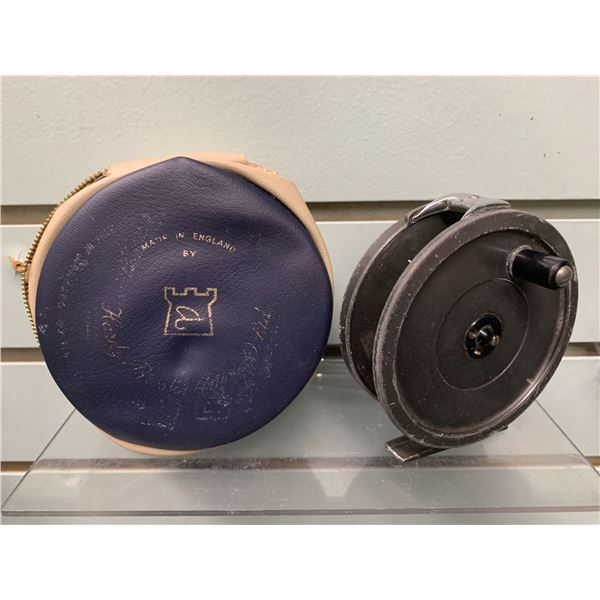 """Hardy Bros """"The Uniqua"""" 3 3/4 inch fly reel"""