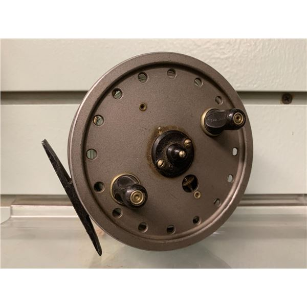 """JW Young & Sons """"Rapidex"""" thin body centre pin reel"""