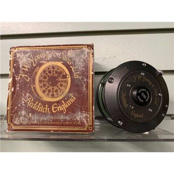 "JW Young & Sons ""1510 series fly reel w/ original box"