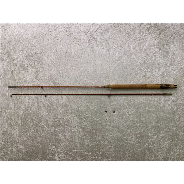 Antique Milward split-cane rod approx. 7Ft