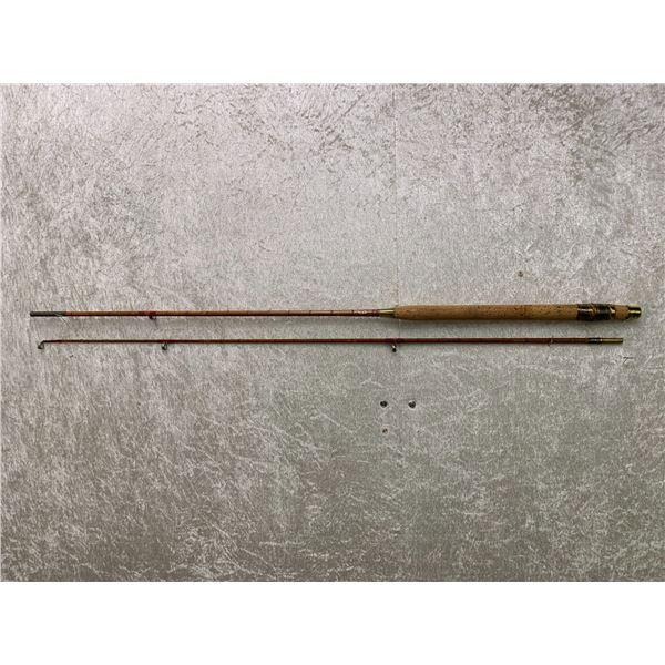 Antique Milward split-cane rod approx. 7Ft