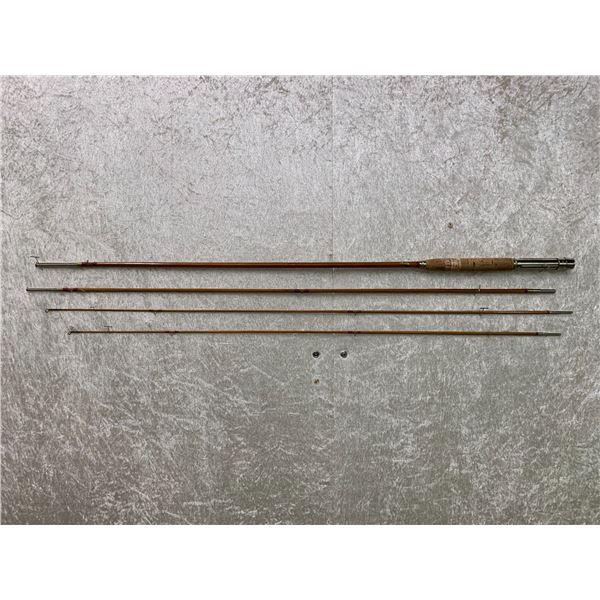 Vintage Montague Lake Pleasent 4 pc. split-cane fly rod w/storage sock
