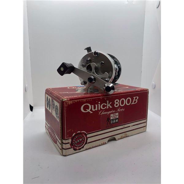 Dam Quick 800B Champion level-wind reel West Germany w/ orginal box