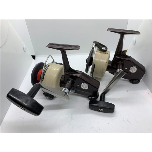 2 Zebco 7X Cardinal spinning reels