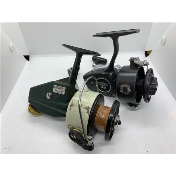 2 Zebco spinning reels