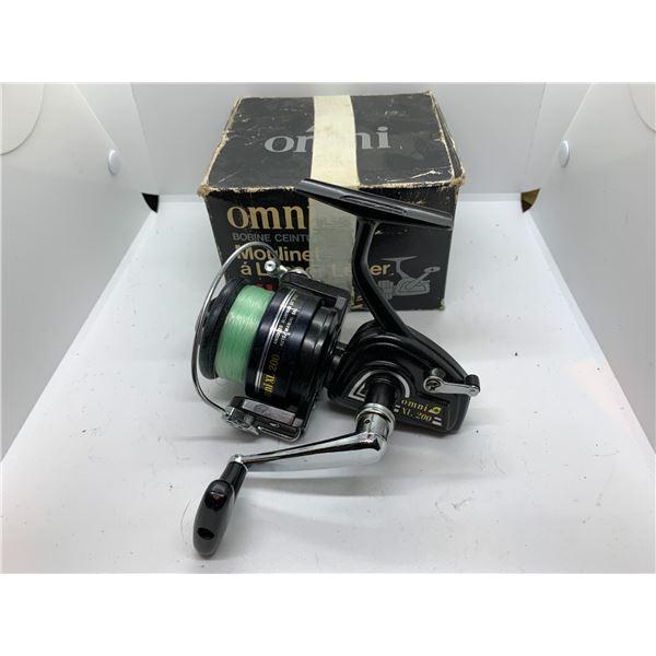 Omni XL 200 spining reel w/ original box