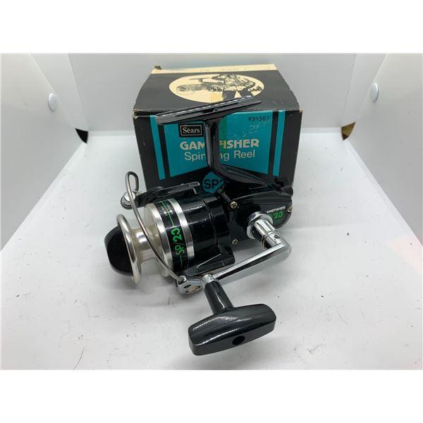 Game fisher SP/23 spinning reel w/ orginal box